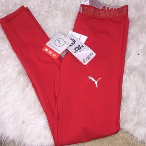 NWT Puma powerCELL compression athletic tights men